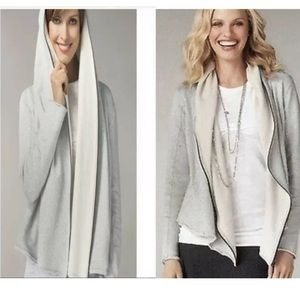 Cabi Terry Shawl Hoodie Size M